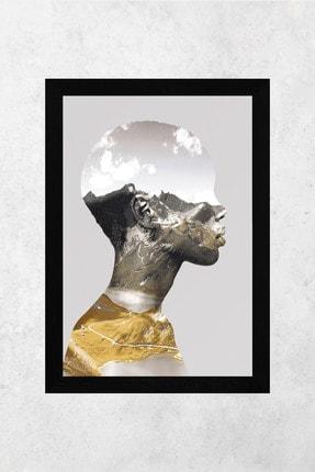 Tontilika Ahşap Çerçeve Görünümlü Kadın Isimli 8mm Dekoratif 3'lü Tablo Seti 3