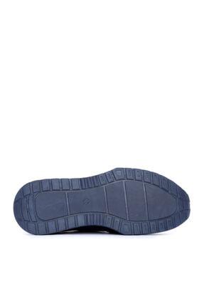 Kemal Tanca Erkek Lacivert Deri Sneaker 160 3691 4