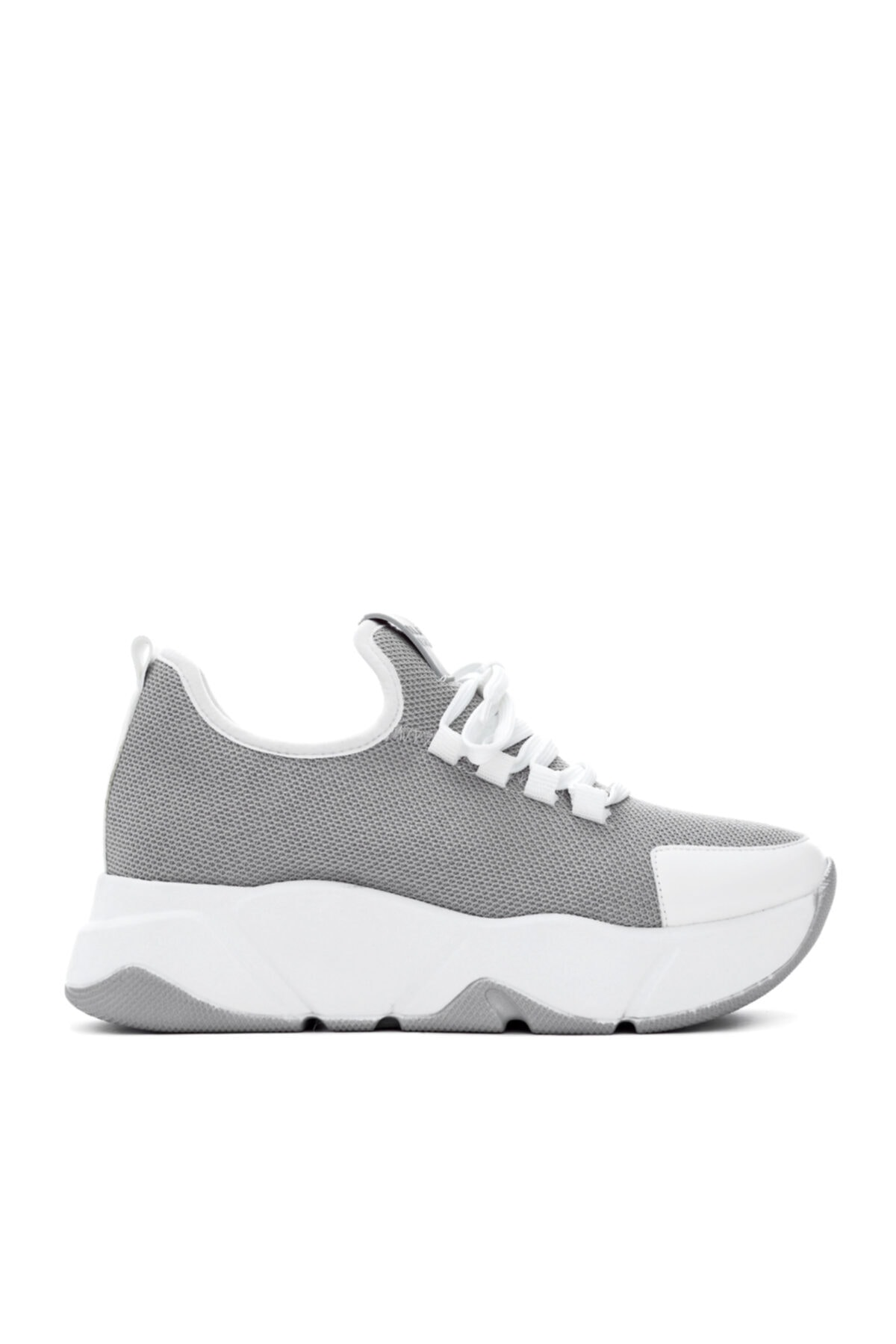 Kadın Gri Tekstil  Sneakers