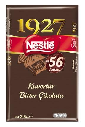 Nestle Nestlé 1927 Kuvertür Bitter %55 Kakao Çikolata 2.5kg 0