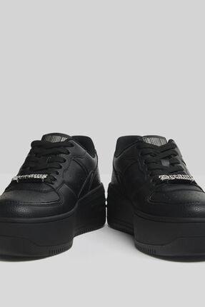 Bershka Taşlı Platform Spor Ayakkabı 3