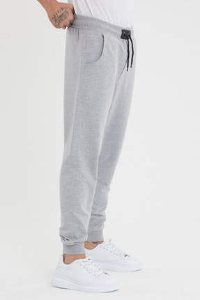 MaesSE Erkek gri günlük eşofman altı jeans fashion 3