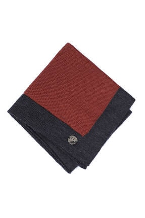 Hemington Erkek Açık Kırmızı Örgü Ceket Mendili 2