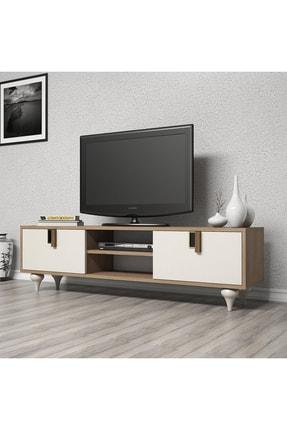 Cool Home Milas 150 Cm Ceviz-beyaz Tv Ünitesi 2