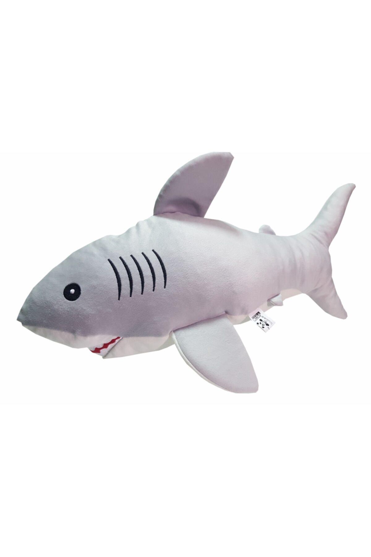 Uyku Arkadaşım Soft Köpek Balığı Gri - 75 Cm.
