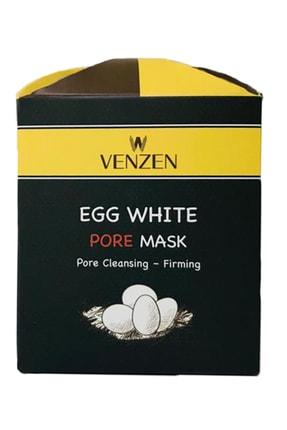 Venzen Egg White Pore Gözenek Maskesi (125g)-gözenek Temizleyici,sıkılaştırıcı Maske 3