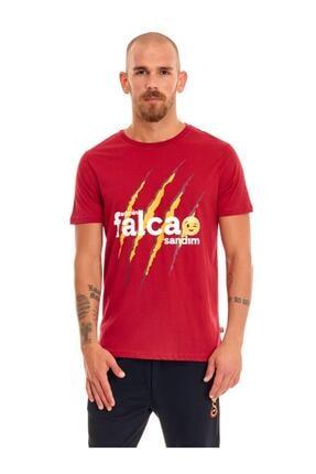 Galatasaray Erkek Kırmızı Galatasaray Admin Falcao Sandım T-shirt E191285 0