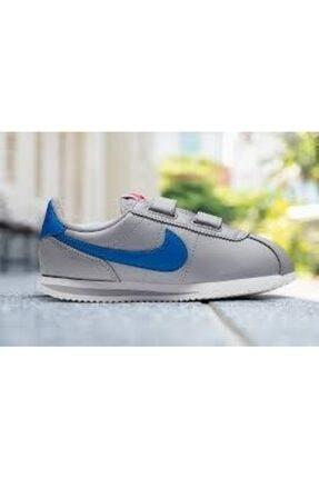 Nike Cortez Basic Sl Gri Çocuk Spor Ayakkabı 3