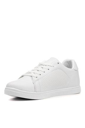 YABUMAN Kadın Beyaz Sneaker Ysn01257kd00 2