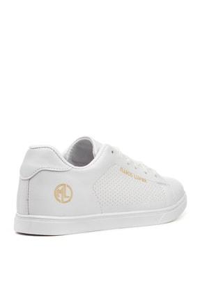 YABUMAN Kadın Beyaz Sneaker Ysn01257kd00 3