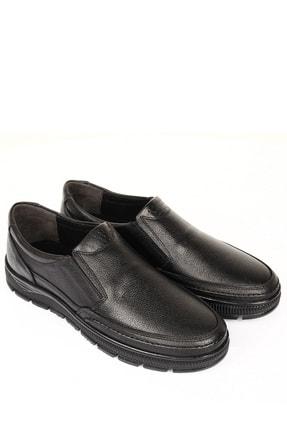 Hakiki Deri Siyah Floter Erkek Günlük (Casual) Ayakkabı 01312 DDMA75301312