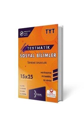 Bilinçsel Yayınları 2021 Tyt Testmatik Sosyal Bilimleri Deneme Sınavları 0