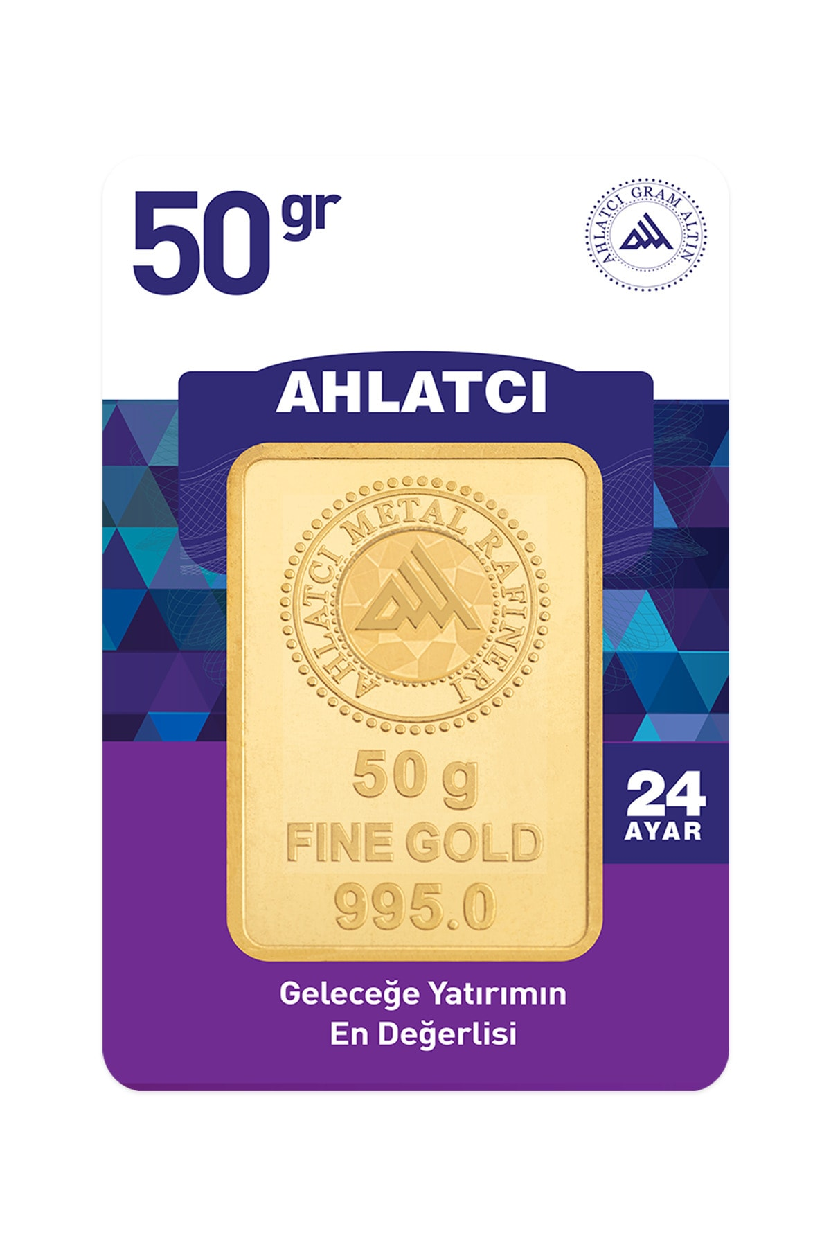 24 Ayar - 50g Altın