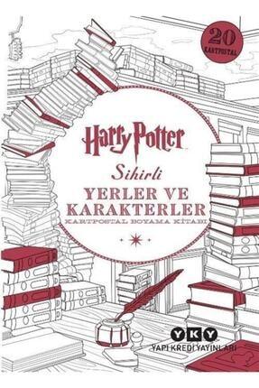 Yapı Kredi Yayınları Harry Potter Sihirli Yerler Ve Karakterler Kartpostal Boyama Kitabı 0
