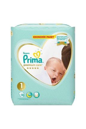 Prima Bebek Bezi Premium Care 1 Beden 70 Adet Yenidoğan Jumbo Paket 1
