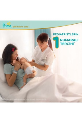 Prima Bebek Bezi Premium Care 1 Beden 70 Adet Yenidoğan Jumbo Paket 2