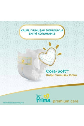 Prima Bebek Bezi Premium Care 1 Beden 70 Adet Yenidoğan Jumbo Paket 3