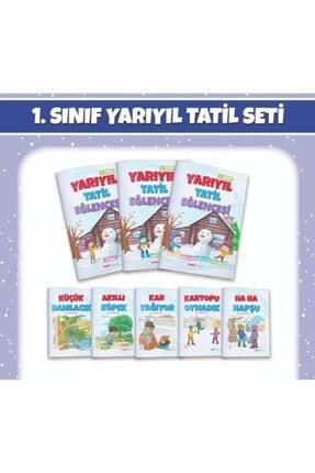 Mavi Deniz Yayınları 1. Sınıf Yarıyıl Tatil Eğlencesi 3 Kitap + 5 Hikaye 0
