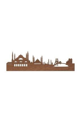 ezgi pleksi Istanbul Silueti - Ahşap Lazer Kesim Tablo 2