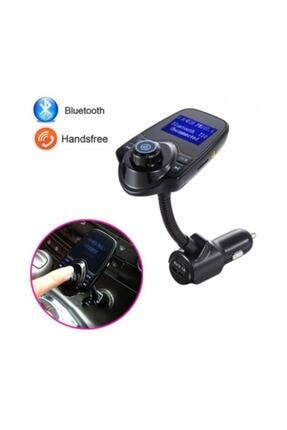 Kingboss T10 Wireless Bluetooth Araç Kiti Girişli Fm Transmitter 1