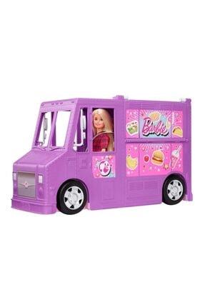 Barbie 'nin Yemek Arabası Oyun Seti 0