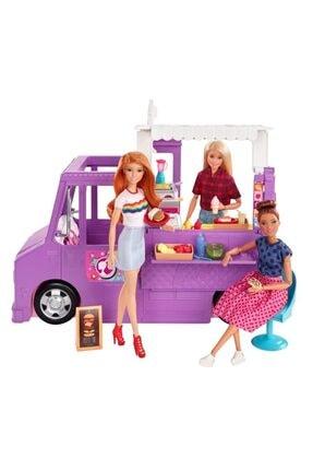 Barbie 'nin Yemek Arabası Oyun Seti 1