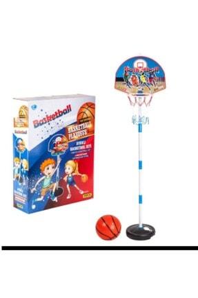 Hitfoni Çocuk Basketbol Potası Yükseklik Ayarlanabilir Kutulu Ayaklı Basket Eğitim Potası 1