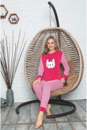 lizbonia Kadın Pembe Pijama Takımı 1