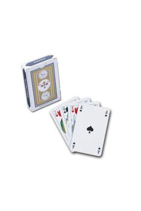 Akın Aksesuar Iskambil Oyun Kağıdı 1 Deste Mavi Renk 0