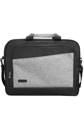 """300803 15.6"""" Siyah / Gri Unisex Evrak Notebook Laptop Çantası resmi"""