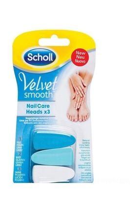 Scholl Velvet Smooth Elektronik 3'lü Tırnak Bakım Seti 0