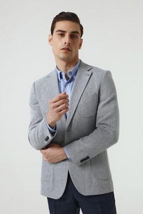 D'S Damat Lacivert Renk Erkek  Ceket (Slim Fit) 0