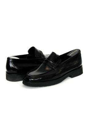 Oğuzhan Ayakkabı Erkek Siyah  Yumuşak Ayakkabı %100 El Yapımı Sidney Serisi 0