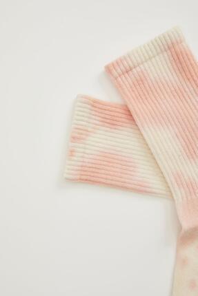 Defacto Batik Desen Soket Çorap 1