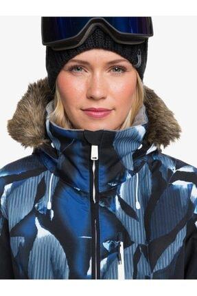 Roxy Kadın Mavi Jet Ski Premium Kayak Ve Snowboard Montu 2