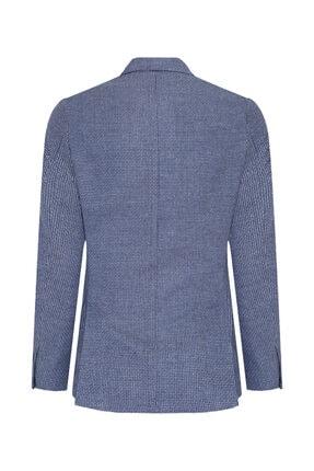 W Collection Erkek Lacivert Balık Sırtı Air Ceket 1