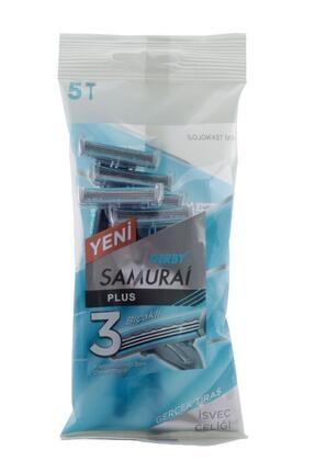 Derby Samurai Plus 3 Bıçaklı 5'li Poşet 0