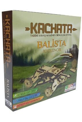 Kachata Hobi Oyuncak İmalat Ve Ticaret Ltd. Şti Kachata Balista Kuşkencir 3d Ahşap Puzzle Yapboz 0