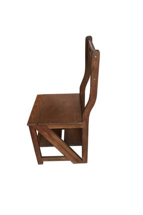 TAHTACI Ahşap Merdiven Sandalye 1