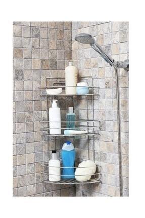 Sas Krom 3 Lü Banyo Köşelik Tk-03 0