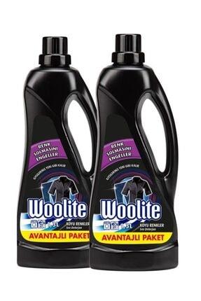 Woolite Koyu Renkler 1300 ml Sıvı Çamaşır Deterjanı - 2 Adet 1