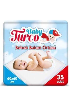 Baby Turco Bebek Bakım Örtüsü 35 Adet 0