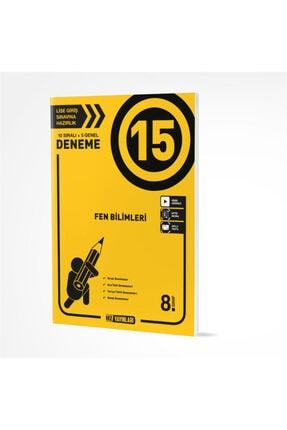 Hız Yayınları 8. Sınıf Fen Bilimleri 15 Li Deneme 0