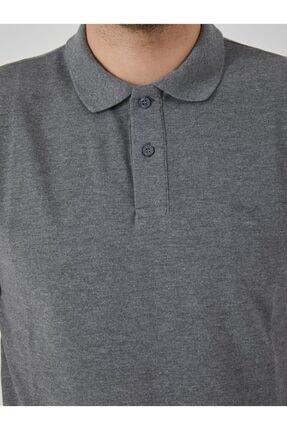 Ltb Erkek  Antrasıt Polo Yaka T-Shirt 012208450860890000 1