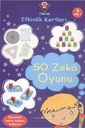 Tübitak Yayınları 50 Zeka Oyunu / Etkinlik Kartları 0