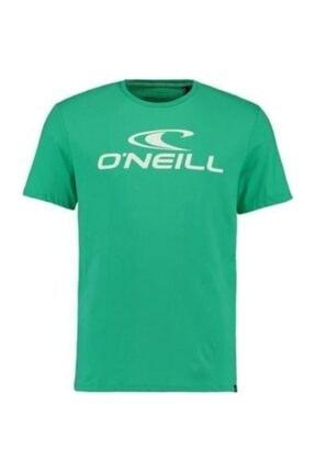 Erkek Yeşil Organic Coton T-Shirt resmi