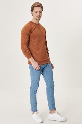Altınyıldız Classics Erkek Buz Mavisi Slim Fit Dar Kesim Denim Esnek Jean Kot Pantolon 2