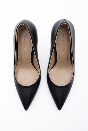 Marjin Kadın Stiletto Topuklu Ayakkabı Dukinsiyah 4