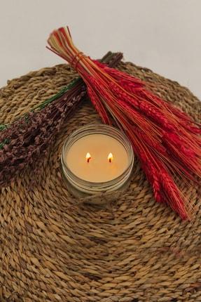 La Vie Candle La Vie Soya Wax Kavun Esans Naturel Kavanoz Mum 2