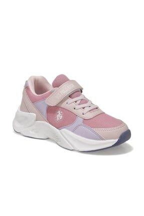 US Polo Assn PEJA Pembe Kız Çocuk Koşu Ayakkabısı 101006268 0